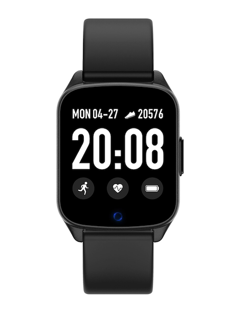 FitSpark Unisex Black NEXA Super Slim Multi-Sports Mode Smartwatch Debut_Black