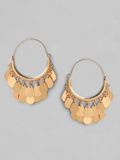 TOKYO TALKIES X rubans FASHION ACCESSORIES Gold-Plated Classic Hoop Earrings