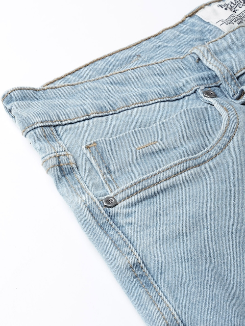 Roadster Men Blue Slim Fit Mid-Rise Clean Look Stretchable Jeans 6