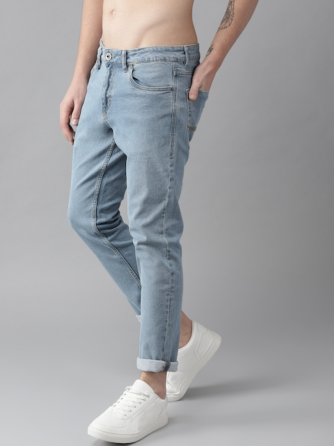 Roadster Men Blue Slim Fit Mid-Rise Clean Look Stretchable Jeans 2