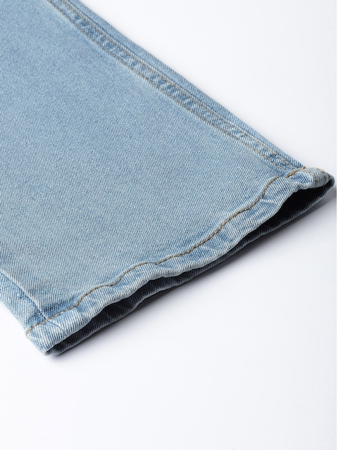 Roadster Men Blue Slim Fit Mid-Rise Clean Look Stretchable Jeans 7