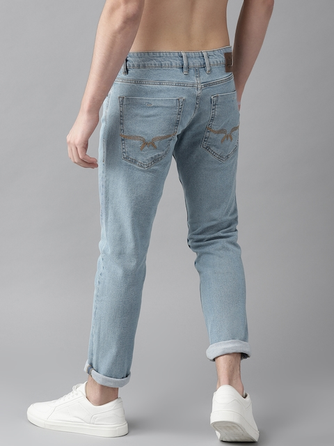 Roadster Men Blue Slim Fit Mid-Rise Clean Look Stretchable Jeans 3