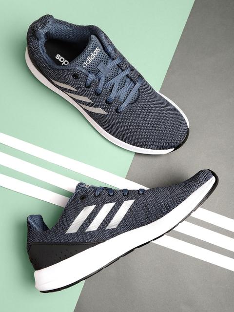 ADIDAS Men Navy Blue RADDIS 1.0 Woven Design Running Shoes