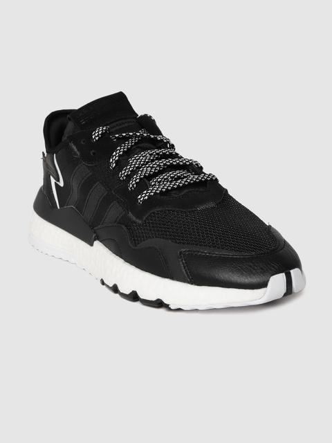 ADIDAS Originals Men Black Nite Jogger Sneakers