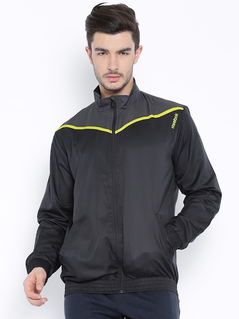 7be25d267f0 Reebok Black Sport Jacket for Men Price in India on June
