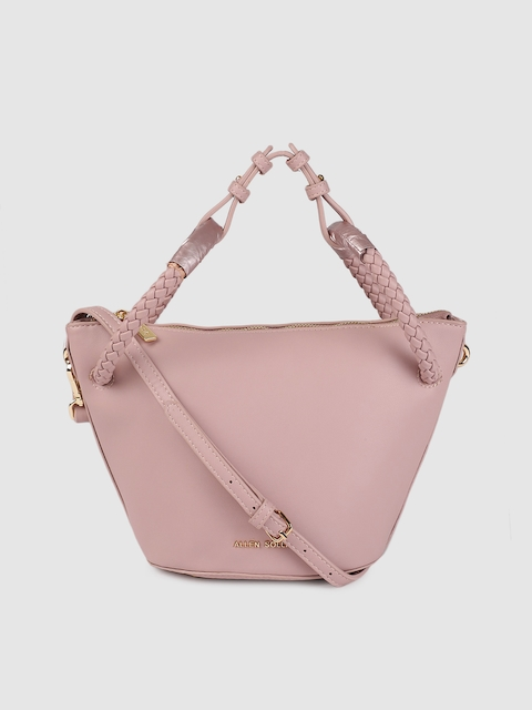 Allen Solly Taupe Solid Sling Bag