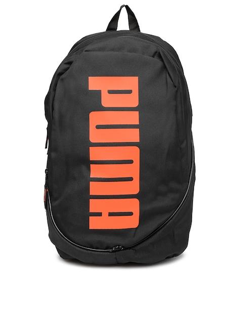 PUMA Unisex Black Pioneer Backpack II Backpack