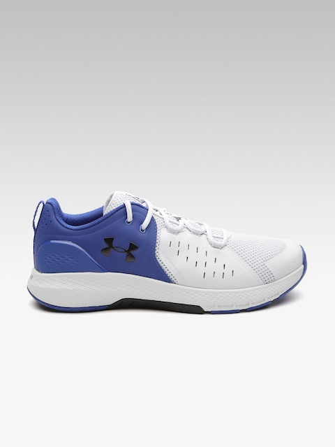 UNDER ARMOUR Men Grey & Blue Charged Commit 2 Training Shoes
