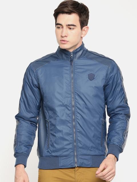 Being Human Men Blue Solid Jacket