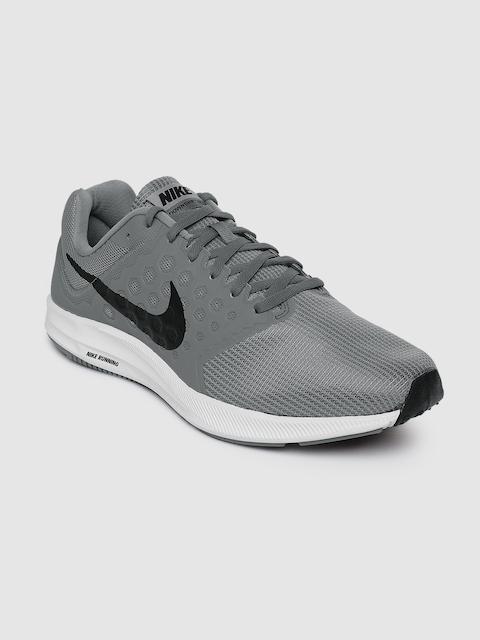 Nike Men Grey DOWNSHIFTER 7 Running Shoes