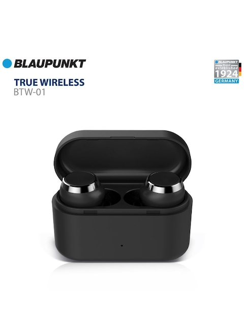Blaupunkt Unisex Black BTW01 Wireless HD Sound Bluetooth Earbuds With Touch Controls