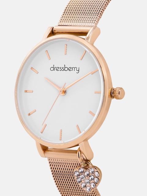 DressBerry Women White Analogue Watch MFB-PN-PF-DK2691B 2
