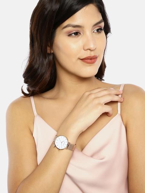 DressBerry Women White Analogue Watch MFB-PN-PF-DK2691B 7
