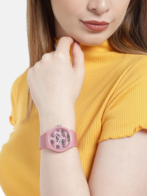 DressBerry Women Pink Analogue Watch 6