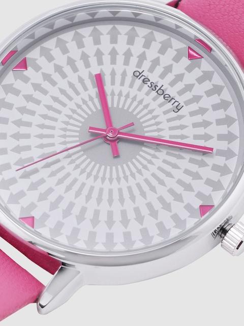 DressBerry Women White & Charcoal Analogue Watch MFB-PN-WTH-K0056 4