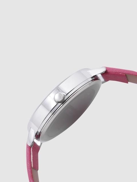 DressBerry Women White & Charcoal Analogue Watch MFB-PN-WTH-K0056 2