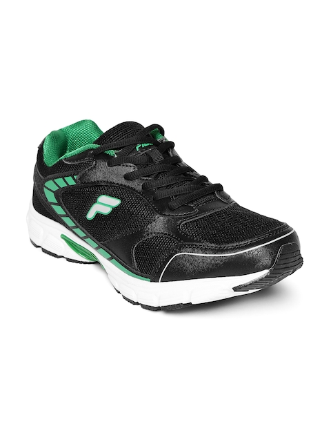 Buy Fila Men Black Smash Lite Casual Shoes 1404050 for