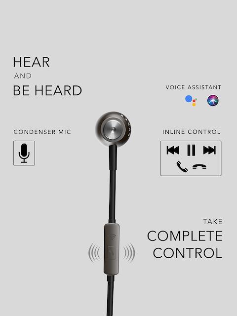 BOULT AUDIO Unisex Black Storm-X In-Ear Wired Earphones 6