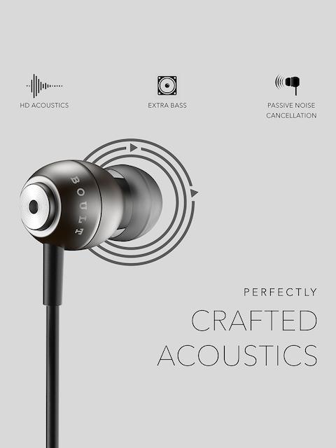 BOULT AUDIO Unisex Black Storm-X In-Ear Wired Earphones 4