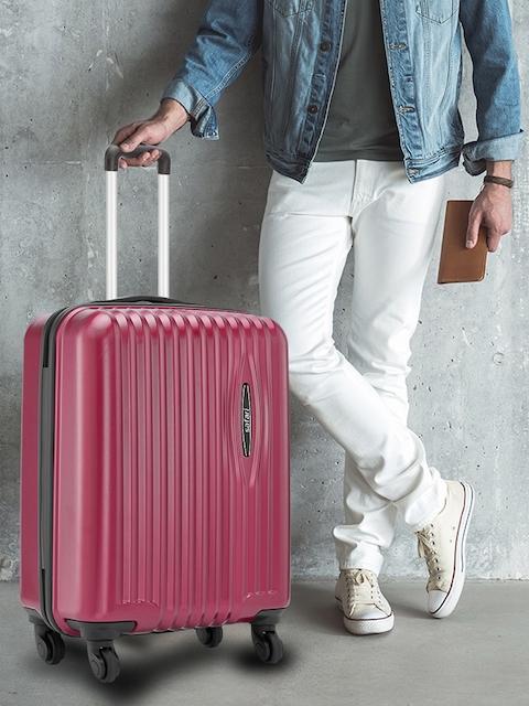 Safari Red 56 cm Premium Hardsided Trolley Suitcase 7