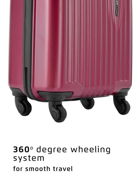 Safari Red 56 cm Premium Hardsided Trolley Suitcase 6