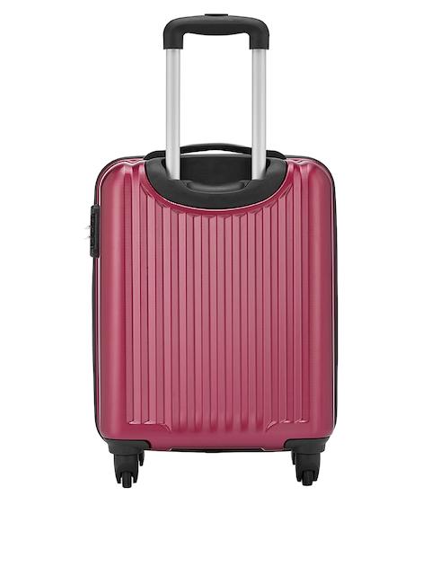 Safari Red 56 cm Premium Hardsided Trolley Suitcase 3