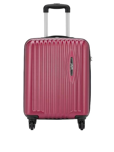 Safari Red 56 cm Premium Hardsided Trolley Suitcase 1