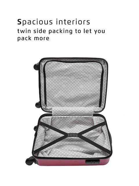 Safari Red 56 cm Premium Hardsided Trolley Suitcase 4