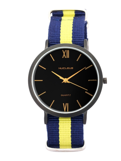 Nucleus Unisex Black Dial Watch BBBY
