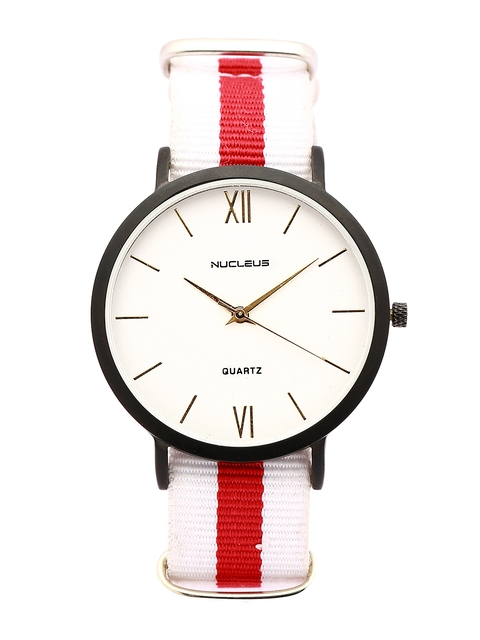 Nucleus Unisex White Dial Watch BWWR