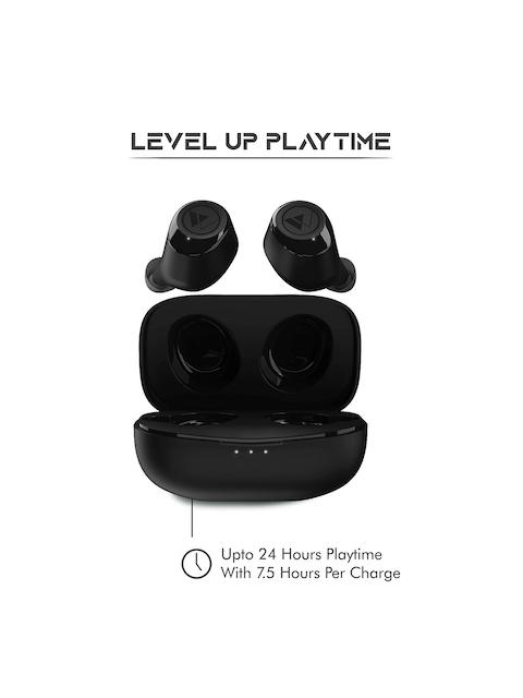 Wings Unisex Black Revel True Wireless TWS Earbuds 4