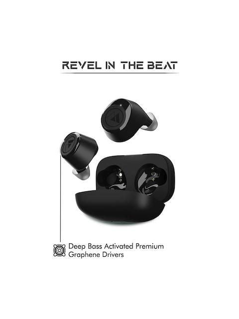 Wings Unisex Black Revel True Wireless TWS Earbuds 5