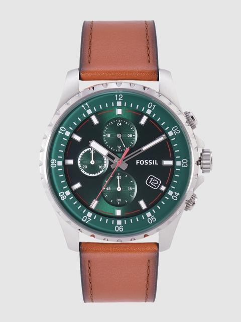 Fossil Men Green Dillinger Analogue Watch FS5734 1