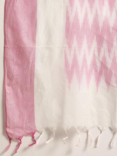 Anouk Women Pink Regular Thread Work Kurta with Trousers & With Dupatta 4