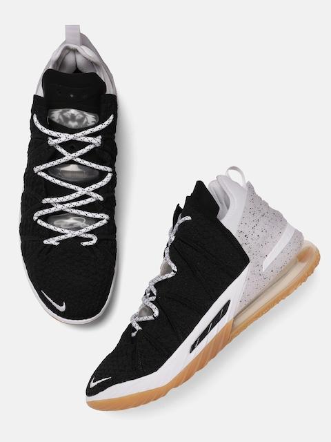 Nike Unisex Black LEBRON XVIII Basketball Shoes