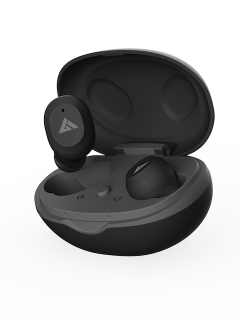BOULT AUDIO Black True Wireless AirBass Combuds Bluetooth Headset 3