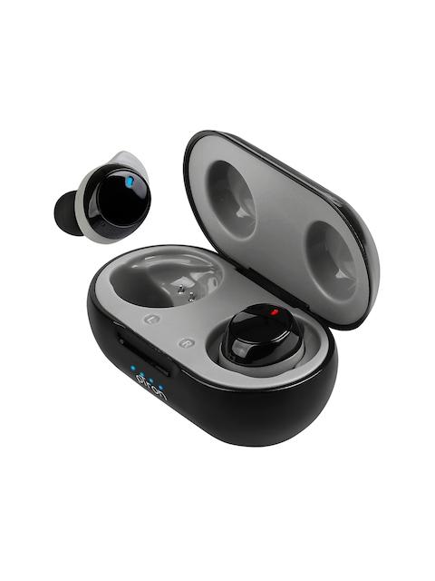 pTron Black & Grey Basspods 581 True Wireless Deep Bass Bluetooth Headphones