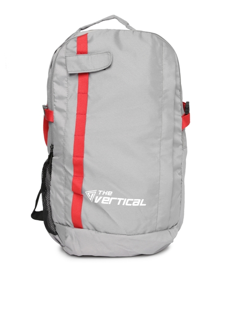 THe VerTicaL Unisex Grey Backpack for Women Price Online in India on March 1c9e35368348d