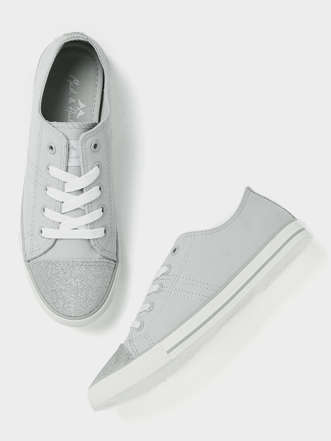 Mast & Harbour Women Grey Sneakers