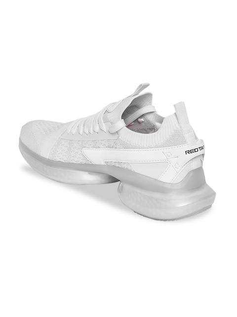 Red Tape Men White Walking Shoes 3
