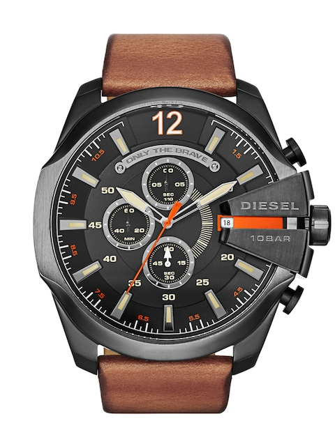 DIESEL Men Grey Chronograph Watch DZ4343