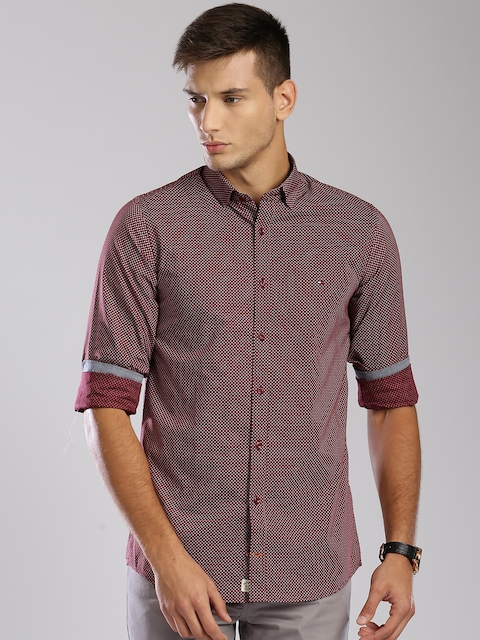 49c9f3369 Men Tommy Hilfiger Casual Shirts Price List in India on June, 2019 ...