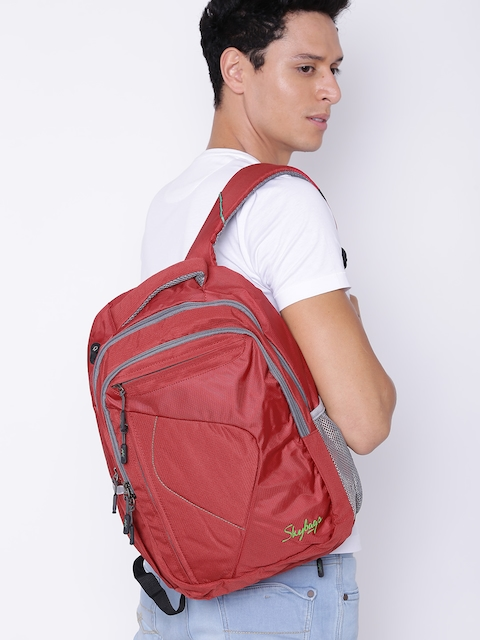 Skybags Unisex Red Dunk 02 Laptop Backpack