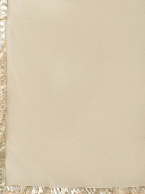Poshak Hub Women Burgundy & Beige Printed Pure Cotton Kurta with Churidar & Dupatta 4