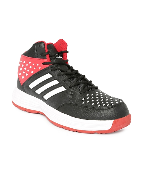 adidas basketball shoes red and black