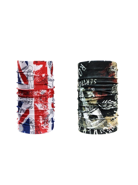 NOISE Unisex Set of 2 Printed Headbands