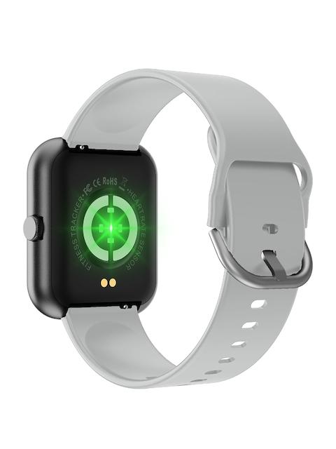 OPTA Unisex Grey & Black Solid Bluetooth Fitness Smart Watch SB-244 2