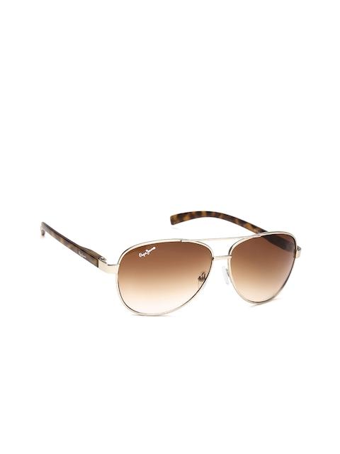 082383d58d85c Pepe Jeans Unisex Mirrored Aviator Sunglasses PJ5112C2