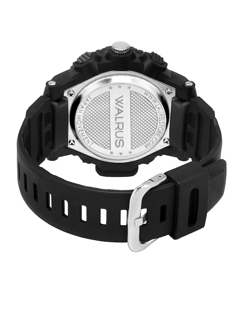 Walrus Men Black Brass Dial & Black Straps Analogue and Digital Watch WWTM-DIGI-III-0202 4