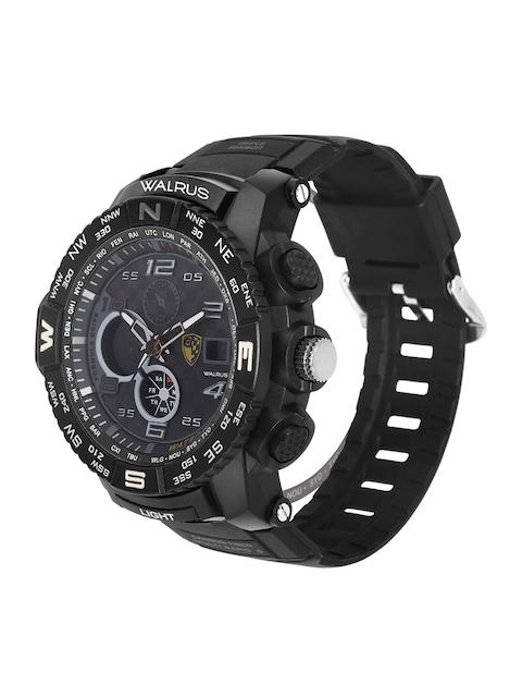 Walrus Men Black Brass Dial & Black Straps Analogue and Digital Watch WWTM-DIGI-III-0202 2